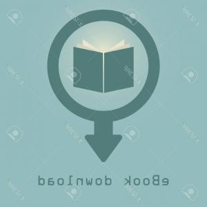 Downloadable Vector Cross: Photostock Vector Downloading E Books Icon Illustration