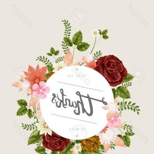 Floral Vector Calligraphy: Catalog Calligraphic Vintage Isolated Black Ink