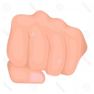 Emoji Fist Bump Vector Graphic: Png Emoji Raised Fist Symbol Sticker Hand Emoji