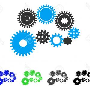 Vector Gear Graphics: Stock Illustration Gear Design Graphic Vector Illustration Image