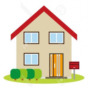 Car Vector Front Elevation: Photostock Vector House Of The Front Elevation