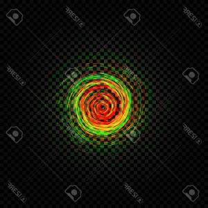 Cyclone Abstract Vector: Abstract Cyclone Background Red Vector