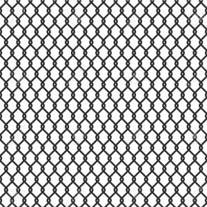 Wire Mesh Vector: Photostock Vector Metallic Wired Fence Seamless Pattern Isolated On White Background Steel Wire Mesh Vector Illustrati