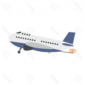 DC-3 Vector: Airplane Topview Icon Image Gm