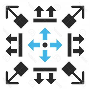 Gray Arrows Vector Art Graphics: Arrow Vector Art Unique Black Arrows On White Round Icons Vector Image Vector Artwork Of