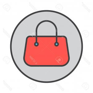 Purse Vector Art: Ladies Fashion Bag Template Gm