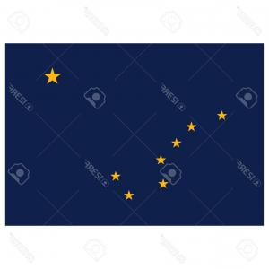 Alaska State White Background Vectors: Photostock Vector Map Of The U S State Of Alaska On A White Background Merry Christmas And A Happy New Year