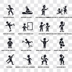 Praying Cowboy Vector: Photostock Vector Set Of Transparent Icons Such As Shot Put Man Attacking Dancing Motion Hearing Cowboy With A Gun