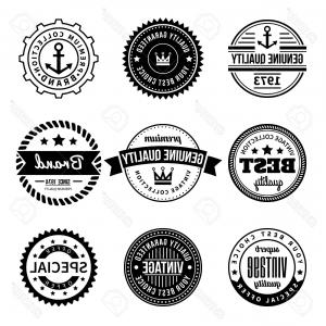 Hipster Vector Ribbon: Vintage Labels Geometric Badges And Hipster Frames Related Vector Icons Gm