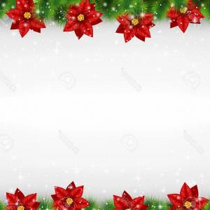 Vector-Based Grayscale Christmas: Abstract Merry Christmas Sale Modern Banner Template