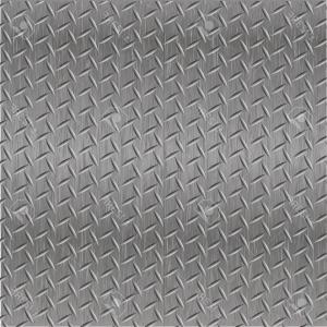 Diamond Plate Vector Pattern: Abstract Metallic Background Metal Diamond Plate In Silver Color Gm