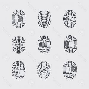 Security Vector Patterns: Abstract Types Fingerprint Patterns Identity Person