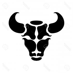 Taurus Vector: Red Bull Taurus Logo Template Vector Icon Illustration Red Bull Taurus Logo Image