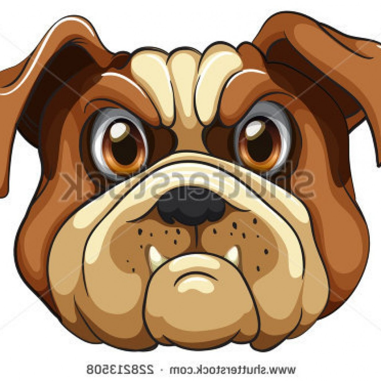 Bulldog Vector Art: Pictures Of Cartoon Bulldogs Monkey Clipart