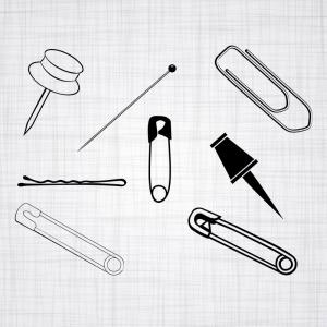 Vector Safety Pin: Safety Pin Icon Cartoon Illustration Of Safety Pin Vector Icon For Web Design Hzgqlzghfxjjvjm