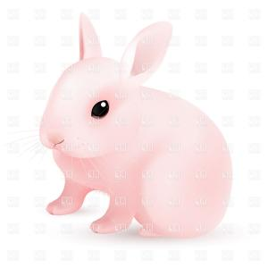 Image Vector Clip Art Bunny Bunny: Stock Vector Bunny Rabbit Sprites Vector Clip Art Illustration With Simple Gradients Each Element On A Separate Layer