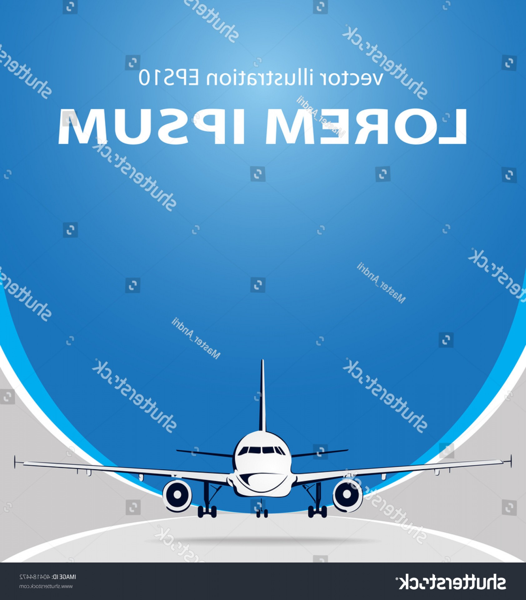 Model Planes Parts Vector: Plane Abstract Lines Vector Logo Illustration
