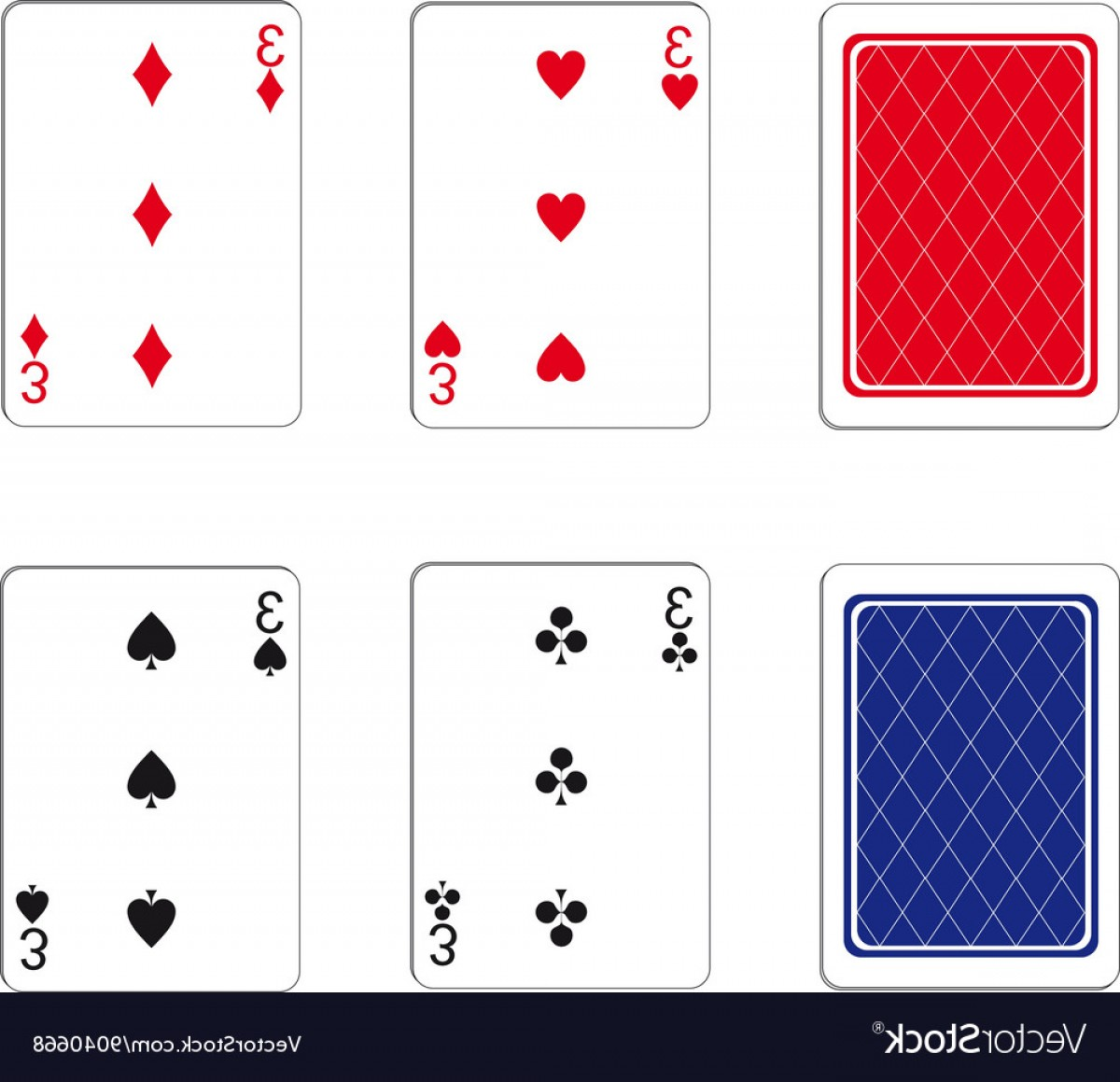 10 Playing Card Vector: Playing Card Set Vector