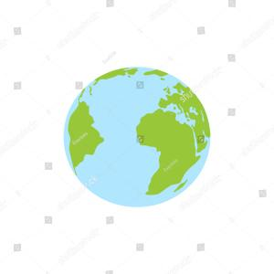 Earth Icon Vector: Planet Earth Vector Icon