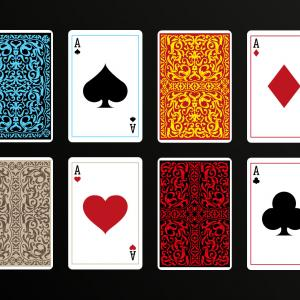 Playing Card Back Vector: Playing Card Back Vector