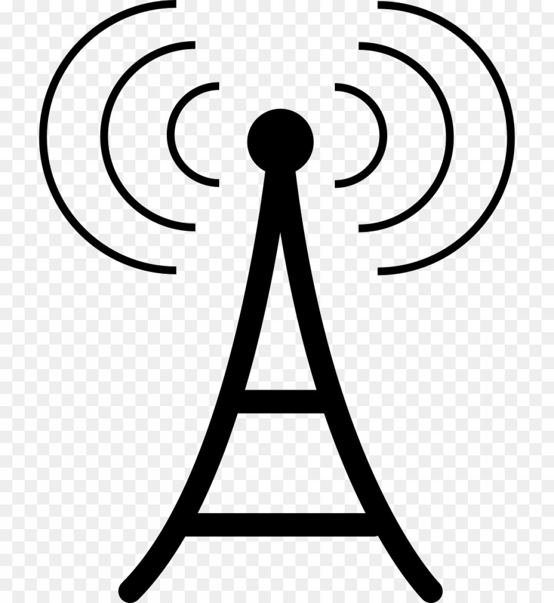 Radio Frequency Vector: Png Aerials Computer Icons Telecommunications Scalable