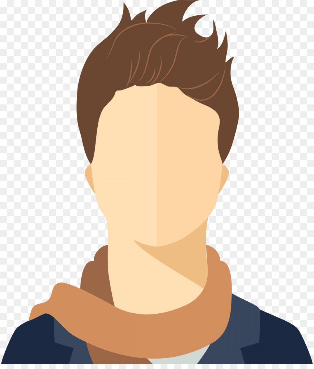 Male Face Icon Vector: Png Avatar Icon Fashion Men Vector Avatar