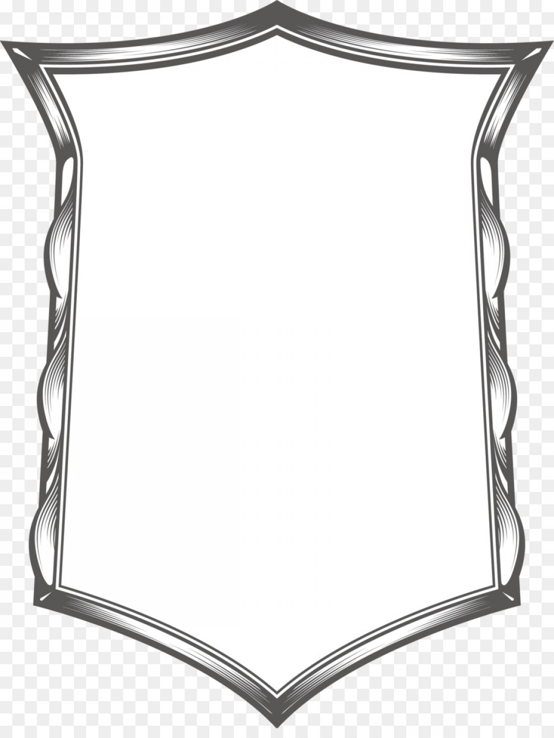 Square Black Vector Border Frame: Png Black And White Vintage Vector Border