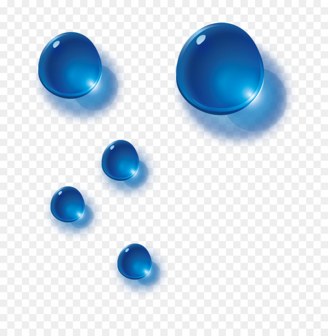Vector Sphere Marble: Png Blue Drop Blue Water Drops Vector