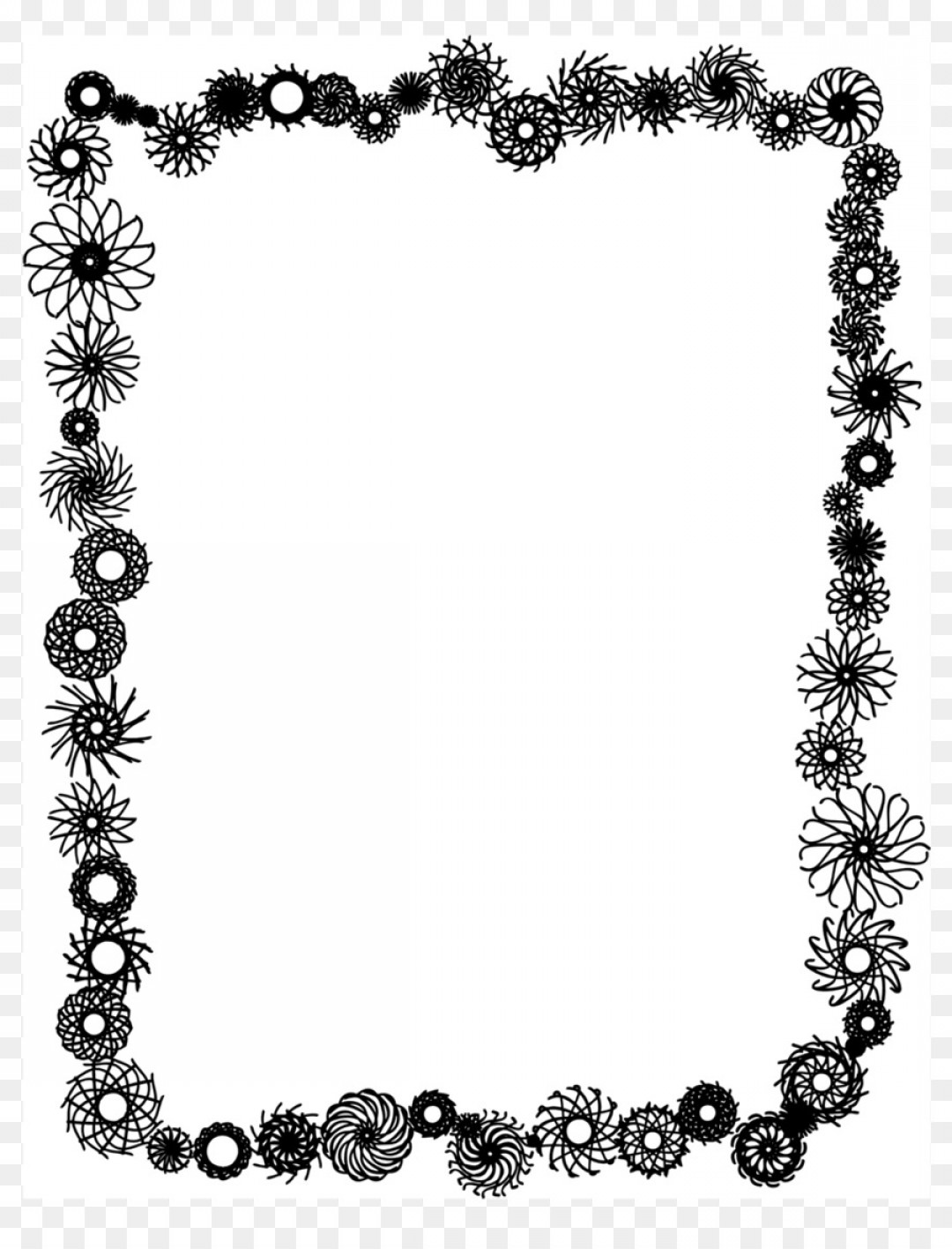 Vector Boarders Clip: Png Borders And Frames Borders Clip Art Vector Graphic