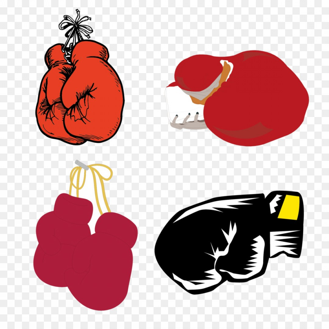 Boxing Gloves Vector Clip Art: Png Boxing Glove Clip Art Boxing Gloves Vector Materia