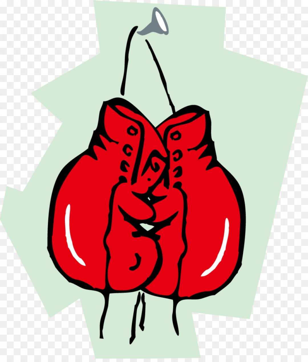Boxing Gloves Vector Clip Art: Png Boxing Glove Clip Art Cartoon Red Boxing Gloves Ve
