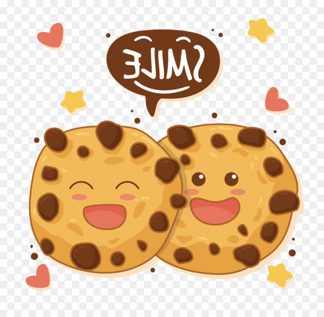 Chocolate Clip Art Vector: Png Chocolate Chip Cookie Biscuit Gingerbread Clip Art