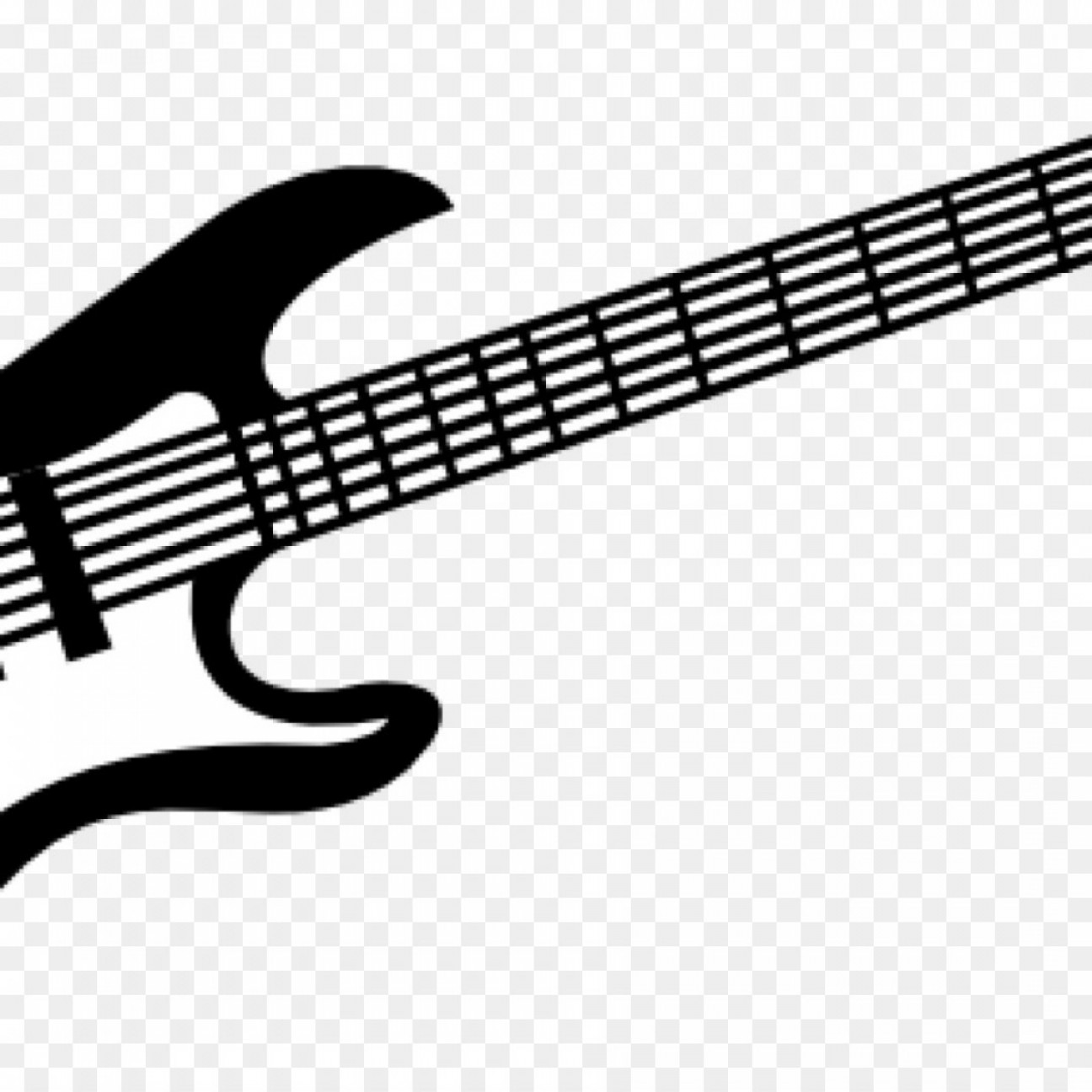 Vector Guitar Clip Art Black And White: Png Clip Art Electric Guitar Bass Guitar Vector Graphi
