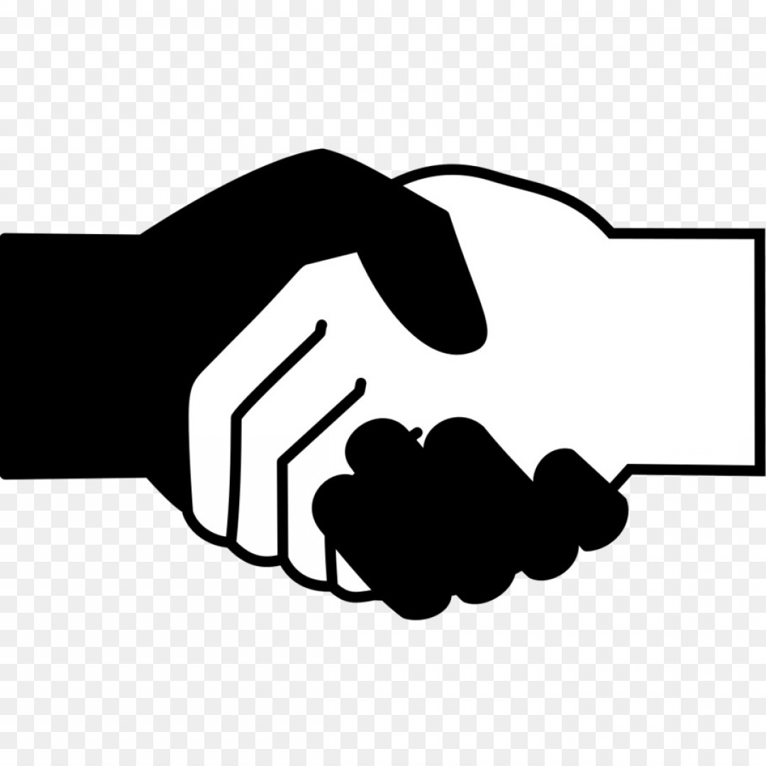 Handshake Clip Art Vector: Png Computer Icons Handshake Black And White Scalable