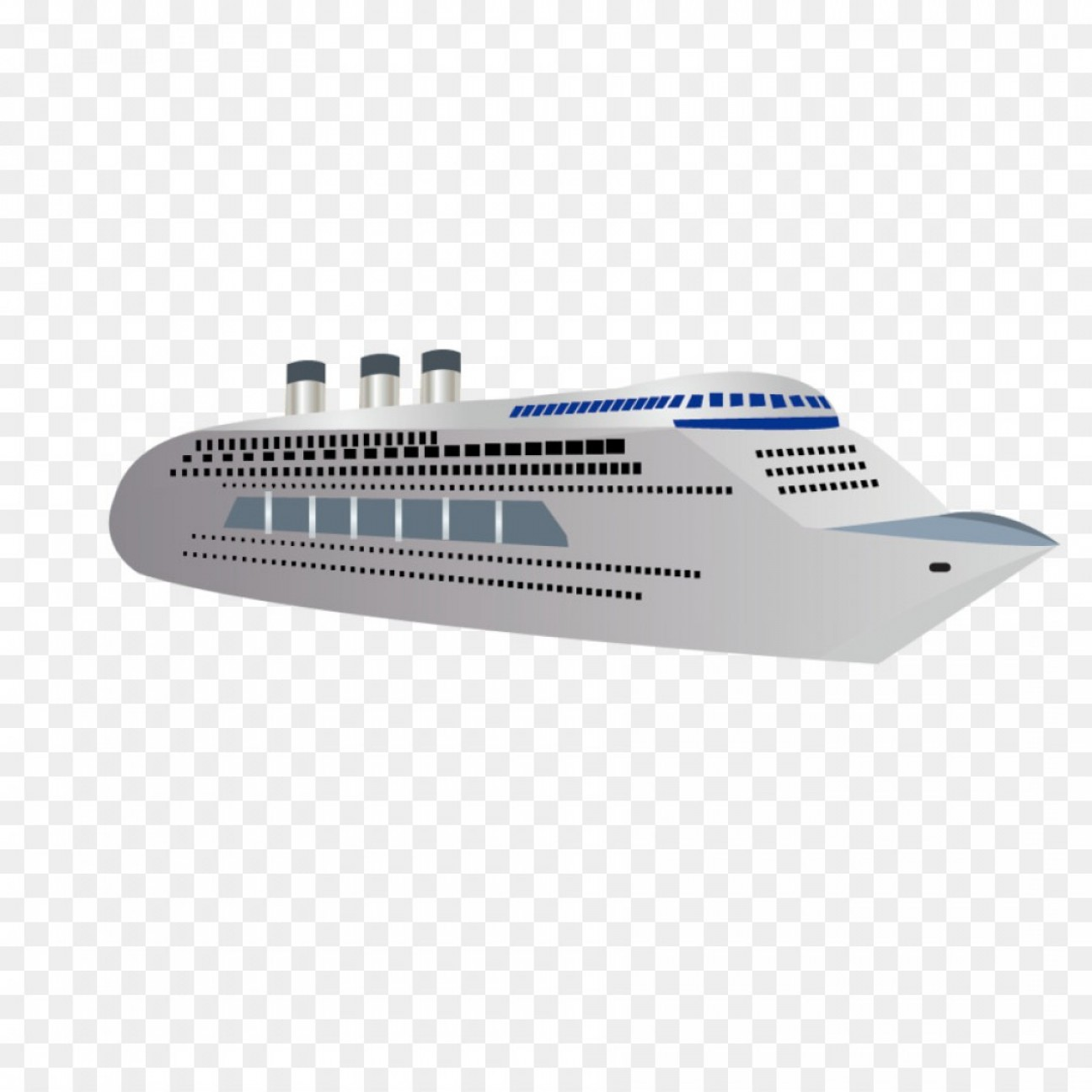 Waves With Cruise Ship Silhouette Vector: Png Cruise Ship Yacht Boat Vector Simple Cruise Yacht