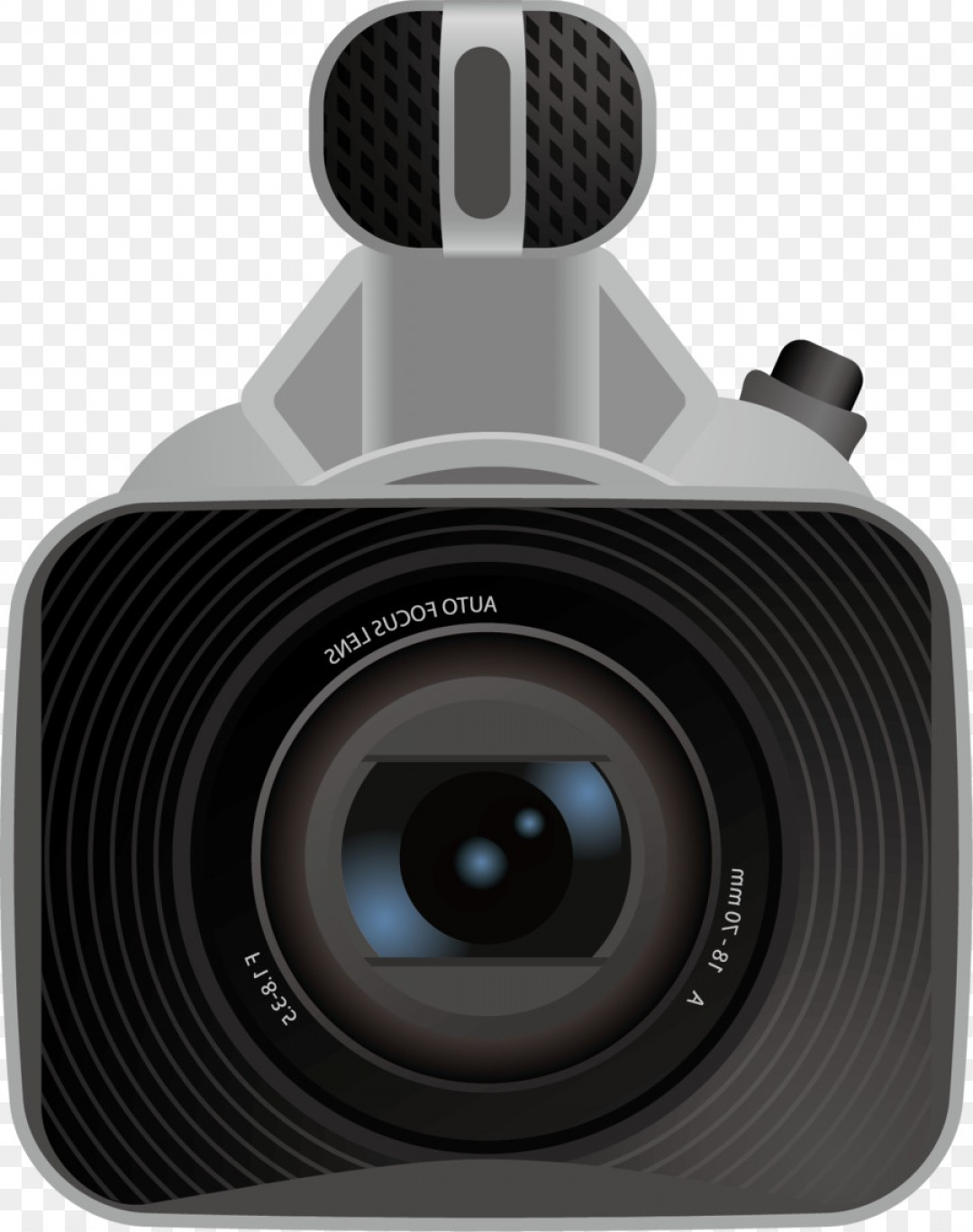 SLR Camera Vector: Png Digital Slr Camera Lens Webcam Webcam Png Vector M