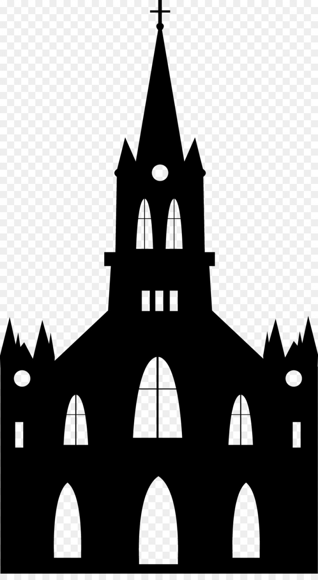Church Silhouette Vector: Png Euclidean Vector Church Religion Silhouette Castle