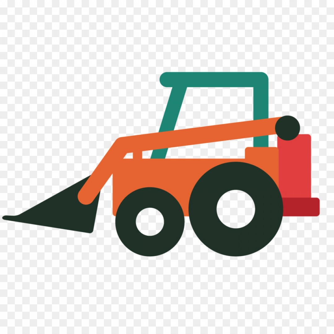 Washer Machine Vector Decal: Png Excavator Bulldozer Sticker Wall Decal Backhoe Vec