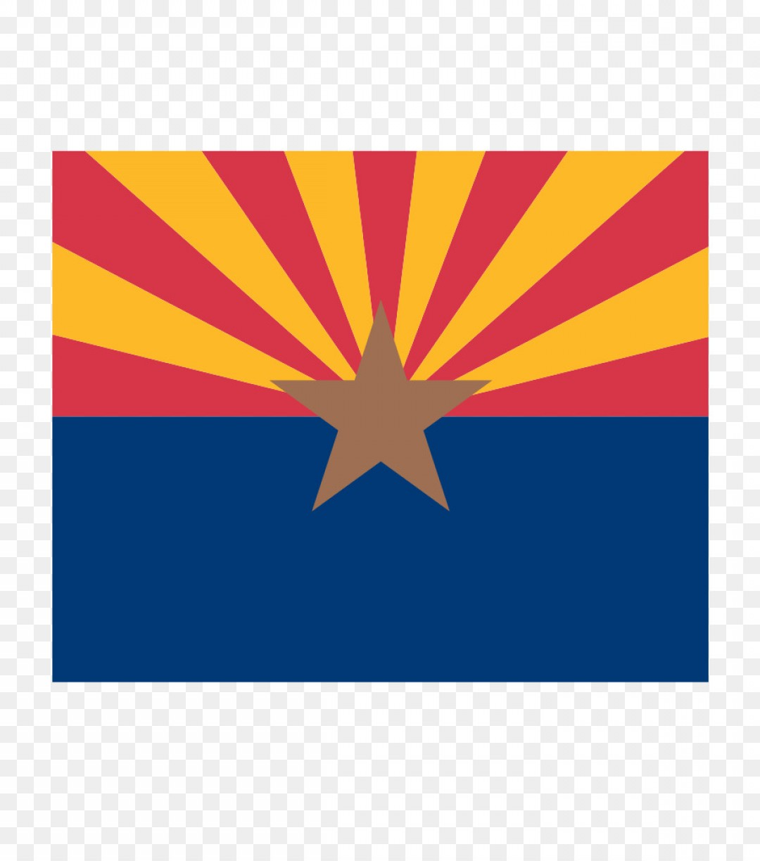 Arizona Flag Vector: Png Flag Of Arizona Flag Of The United States Thirteen