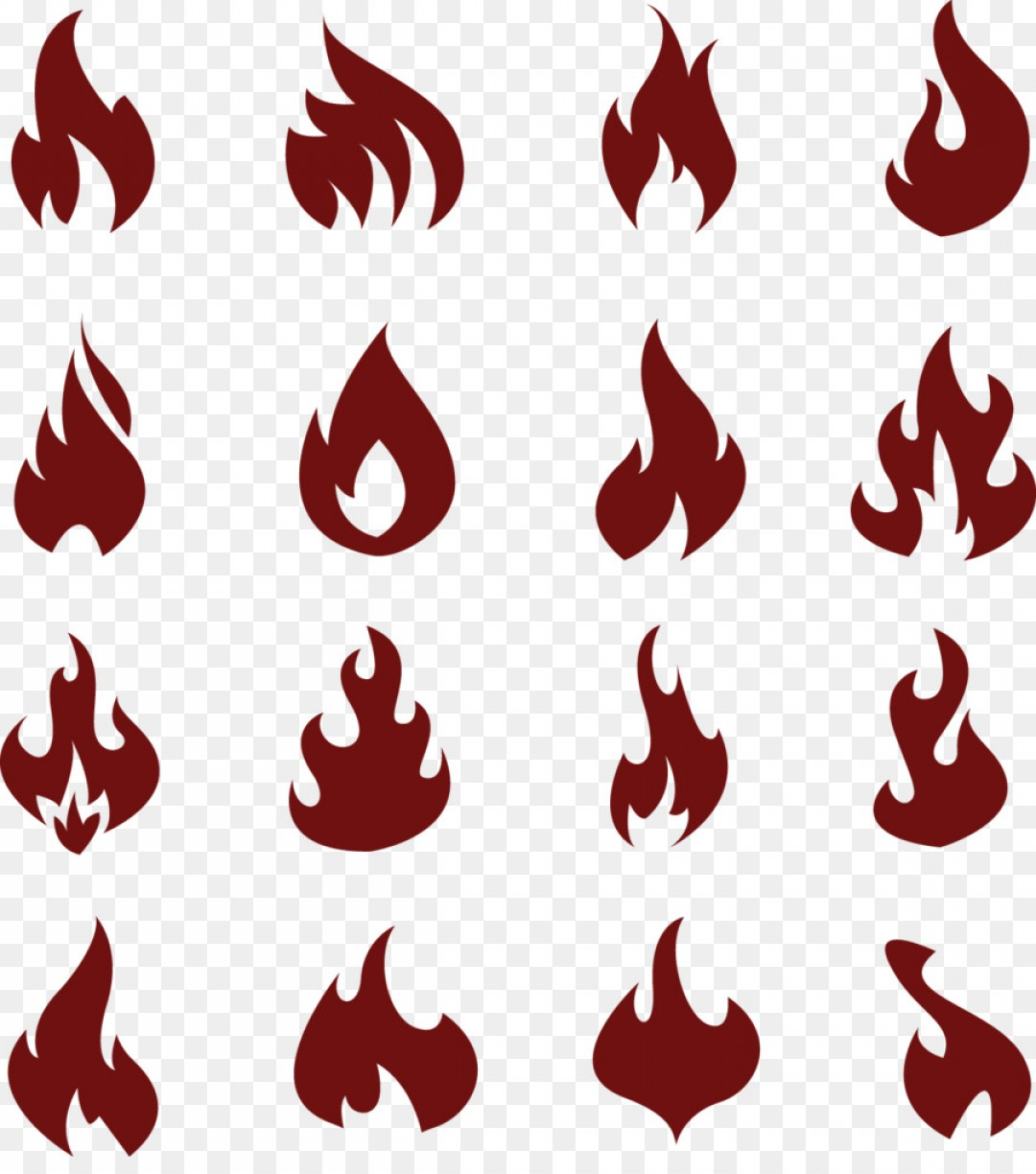 Fire Clip Art Vector: Png Flame Fire Clip Art Of The Flame Icon Vector Ma