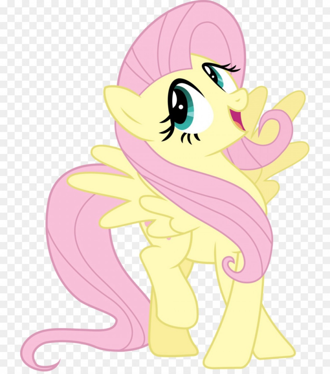 Derpy Hooves Vector: Png Fluttershy My Little Pony Derpy Hooves Caring Vect