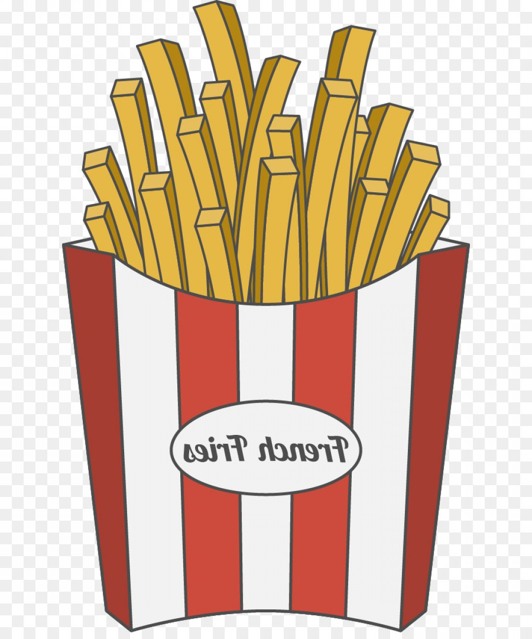 Fries Vector: Png French Fries Fast Food French Cuisine Royalty Free