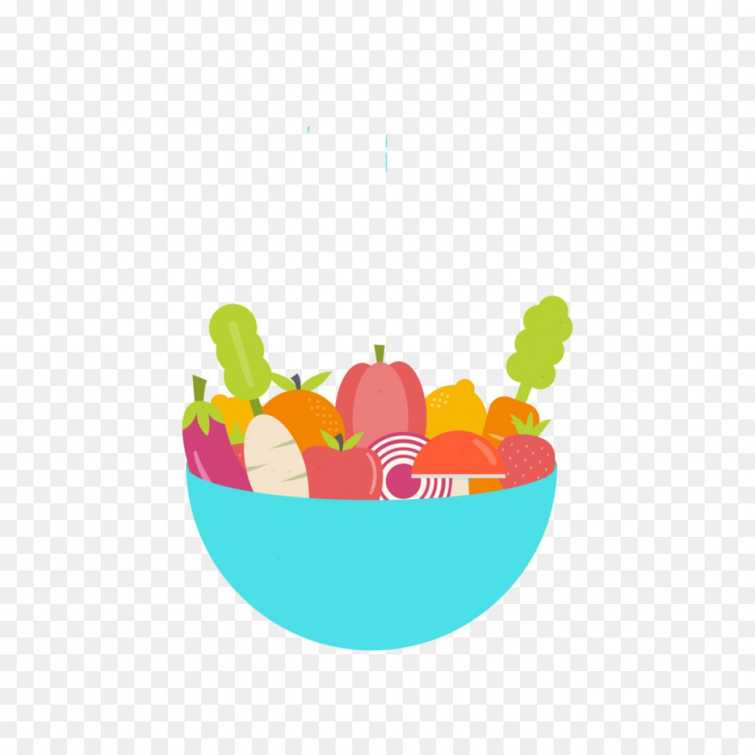 Vector Fruit Vegetable: Png Fruit Vegetable Bowl Illustration Vector Fruits An