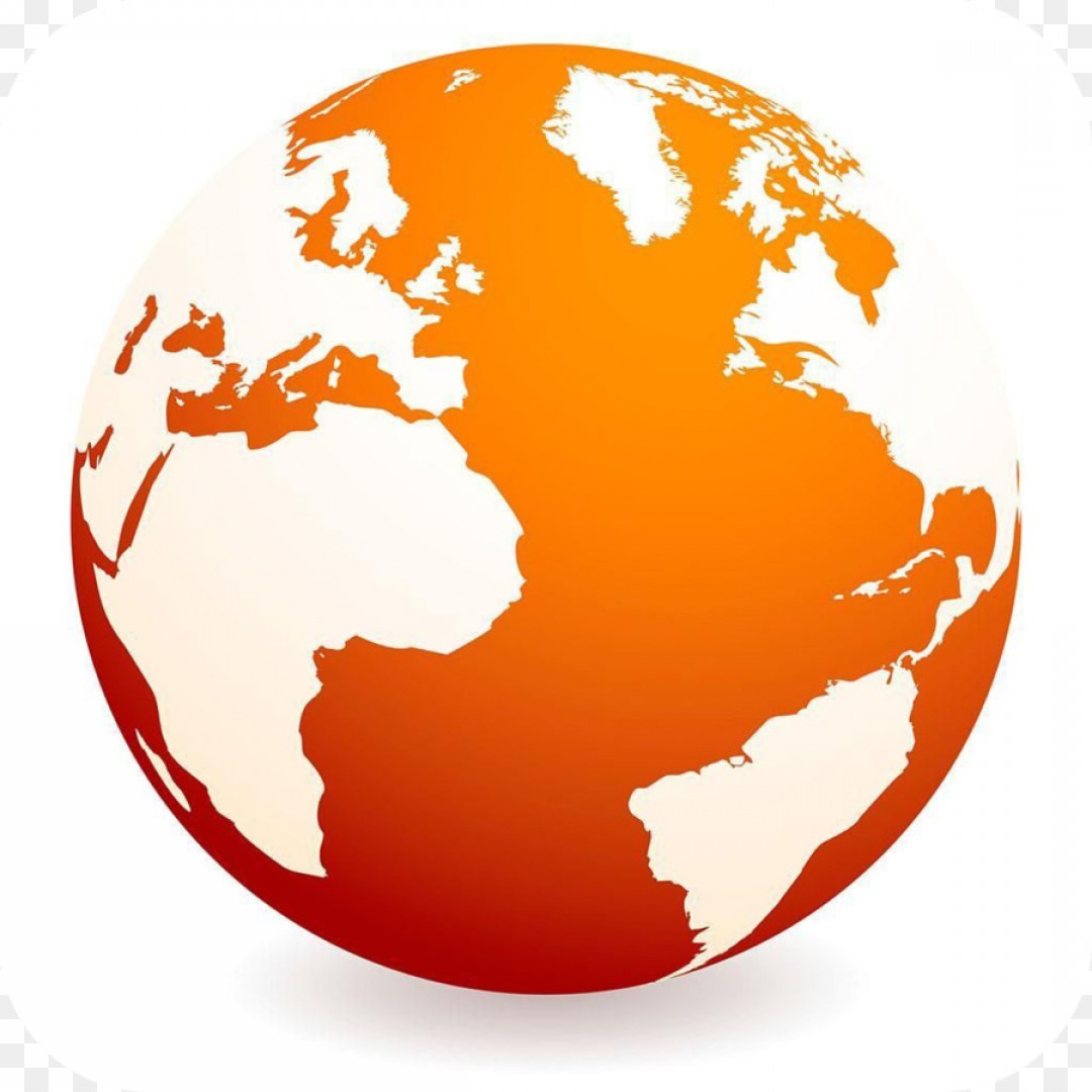 Globe Vector Clip Art Transparent Orange: Png Globe World Royalty Free Clip Art Earth Vector