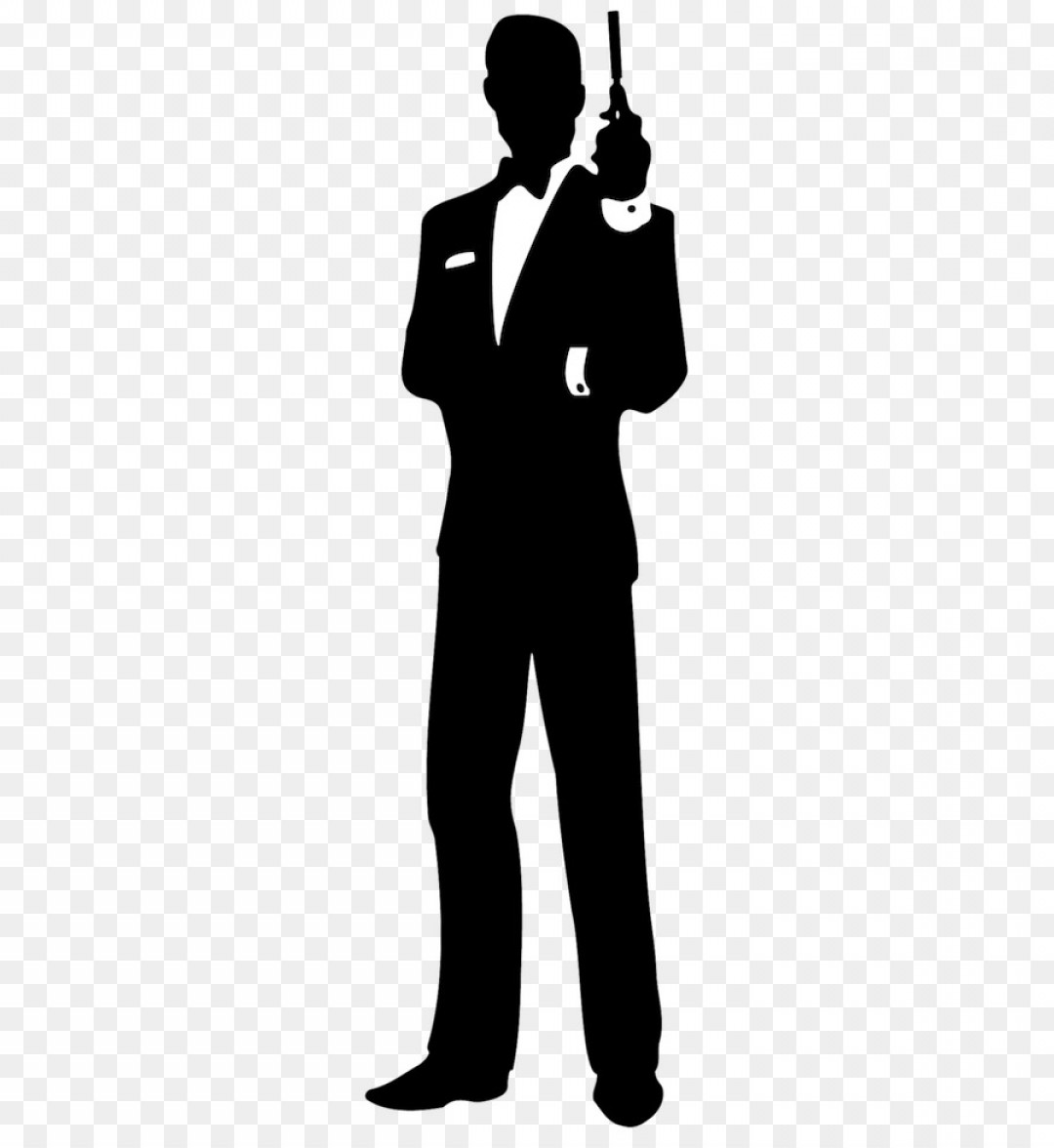 James Bond Silhouette Vector: Png James Bond Film Series Logo