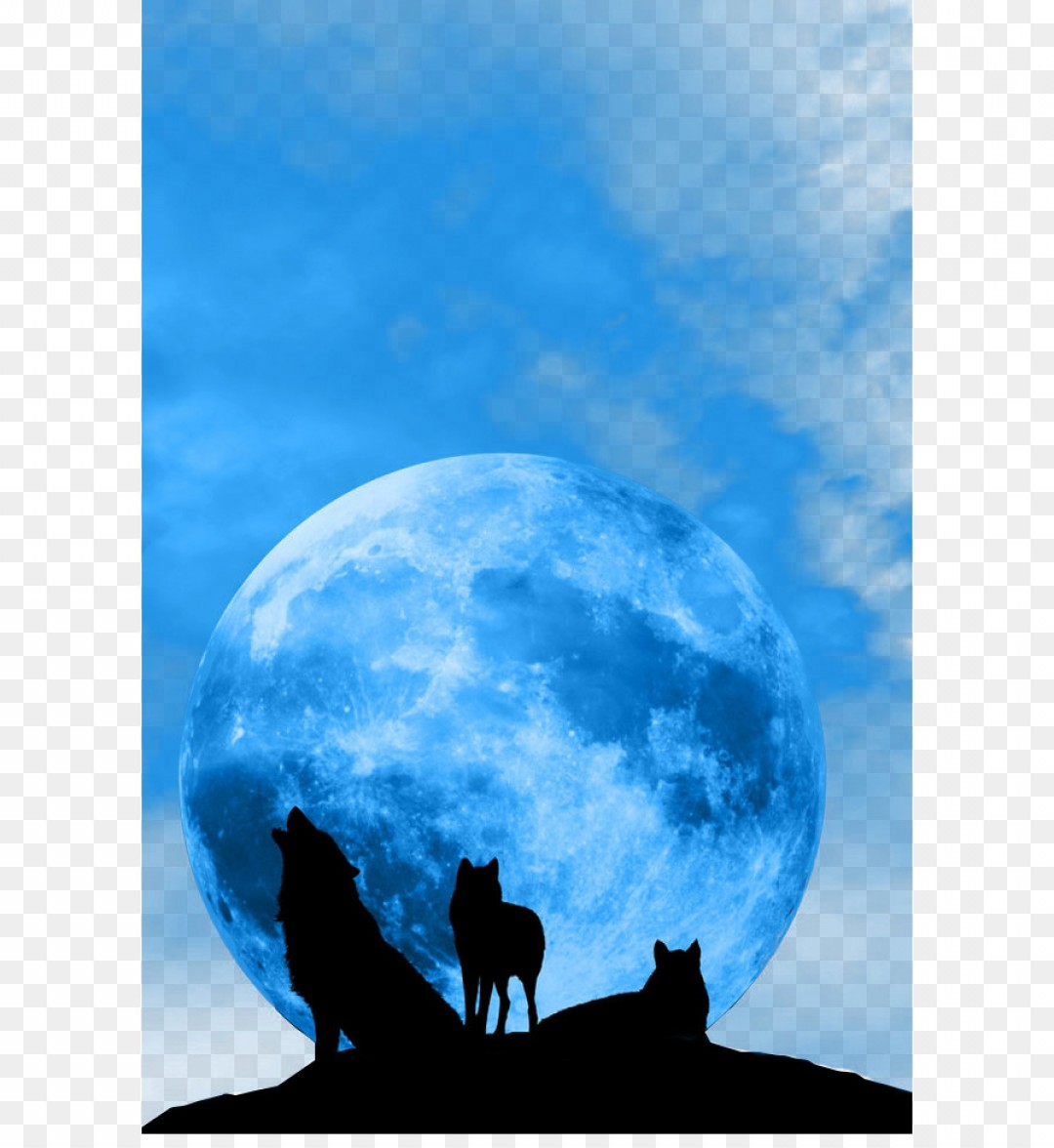 Full Moon Werewolf Vector 900: Png January Lunar Eclipse Blue Moon Supermoon Ful
