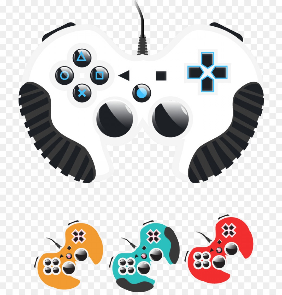 Xbox Game Controller Vector: Png Joystick Gamepad Game Controller Vector Gamepad