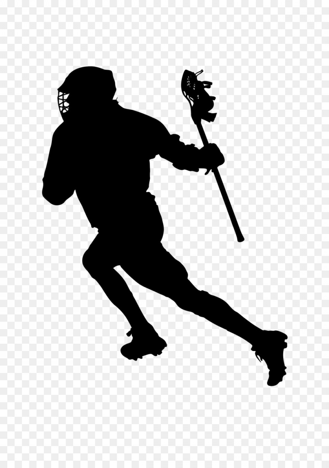 Lacrosse Stick Vector: Png Lacrosse Stick Silhouette Scalable Vector Graphics