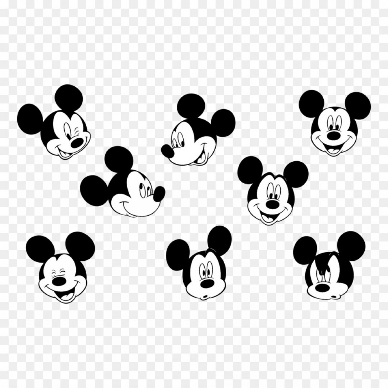 Minnie Vector Black And White: Png Mickey Mouse Minnie Mouse Vector Graphics Image Cl