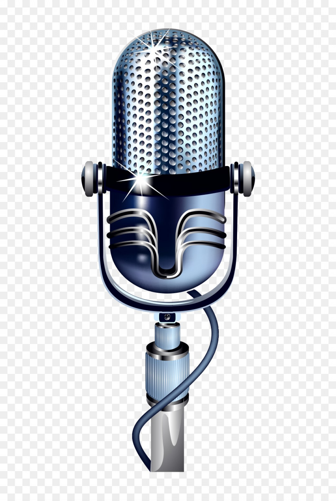 Microphone Recording Vector: Png Microphone Recording Studio Vector Microphone